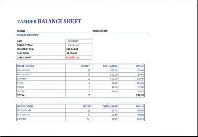 Cash Drawer Balance Sheet | charlotte clergy coalition