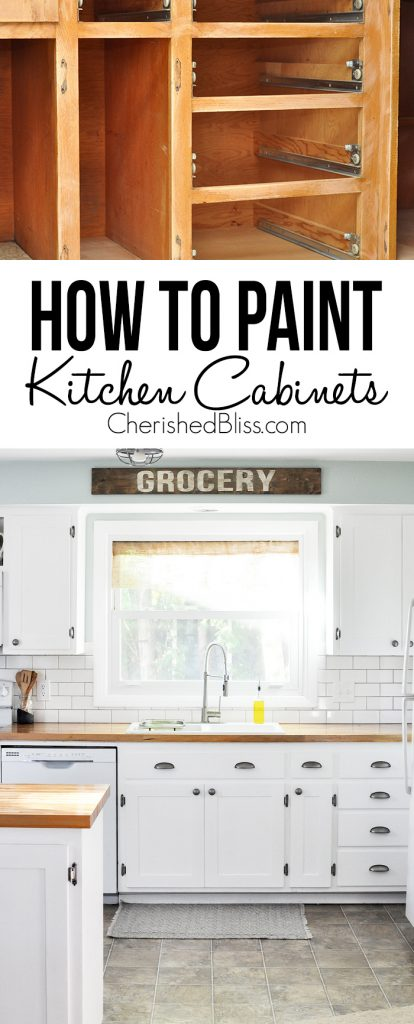 tips paint kitchen cabinets kitchen cabinet painting Do you have ugly kitchen cabinets that need a makeover This tutorial shows you How