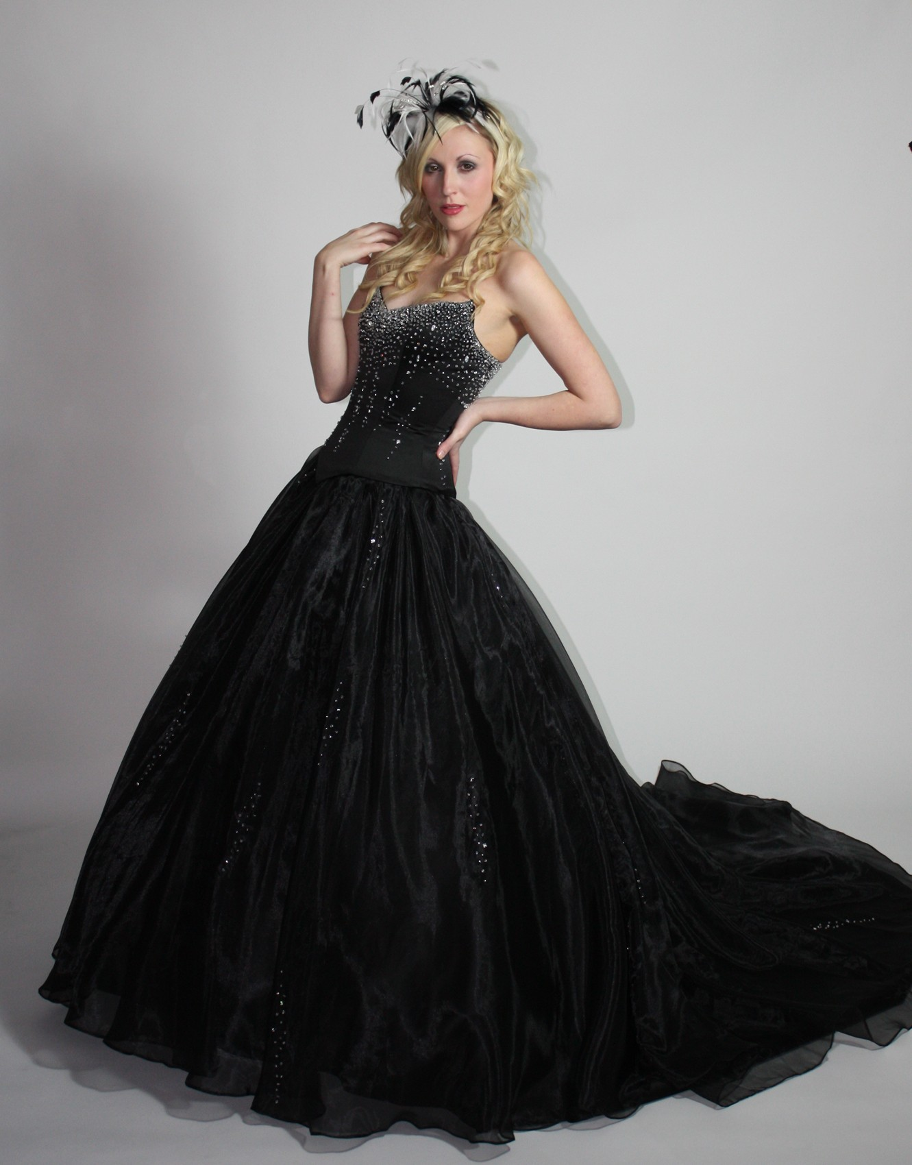 black wedding dresses ideas inspiration for sexy sophisticated look black wedding dresses black ball gown wedding dress with gothic style