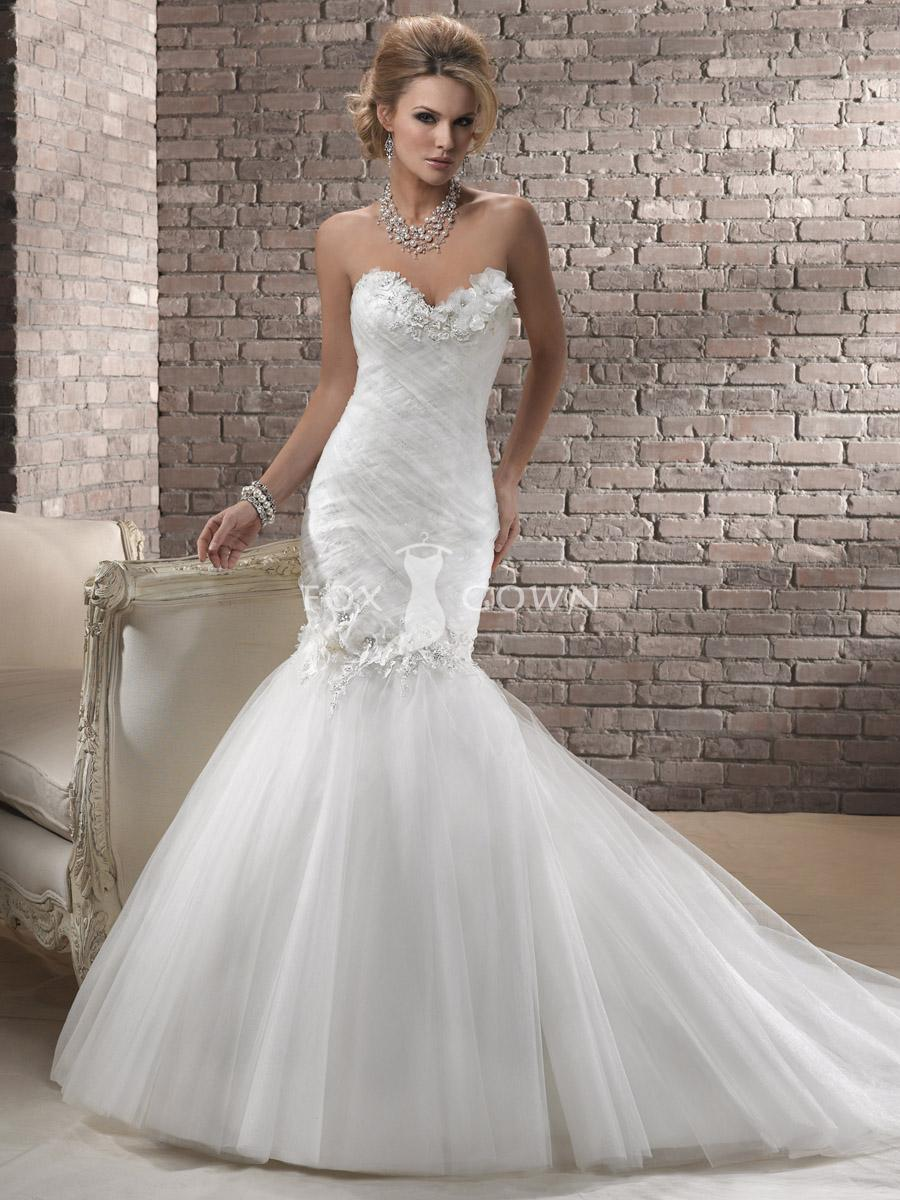 mermaid wedding dresses with sweetheart neckline mermaid wedding dresses mermaid sweetheart tulle wedding dress with crystals