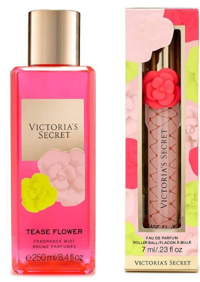 Victoria's Secret Tease Flower Fragrance Collection Spring 2017 - Beauty Trends and Latest ...