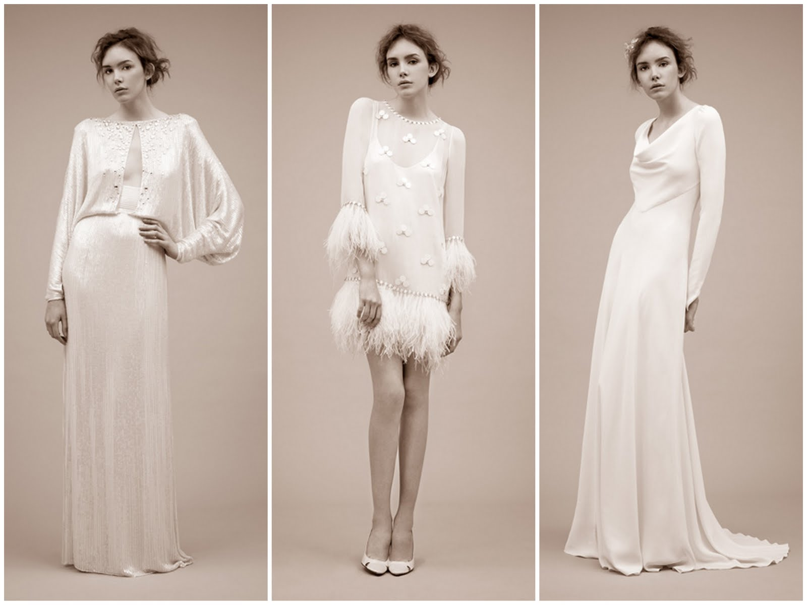 top long sleeved wedding dresses sleeved wedding dress Long Sleeved Wedding Dresses from Jenny Packham Antonella Dido Yevonde