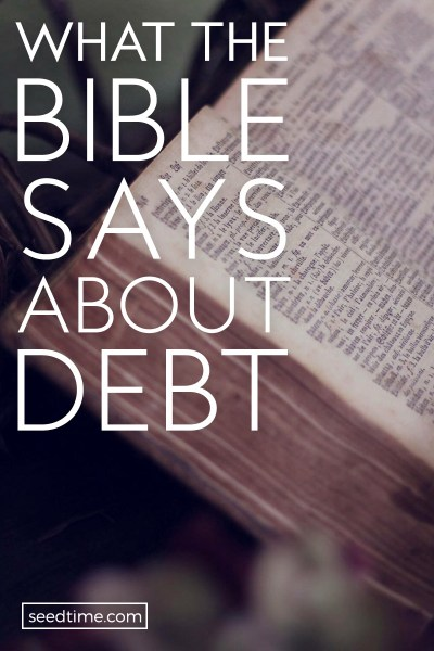 What Does The Bible Says About Debt? (The Surprising Truth)