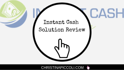 Instant Cash Solution Review (Instant Solutions Won't Get You Very Far)