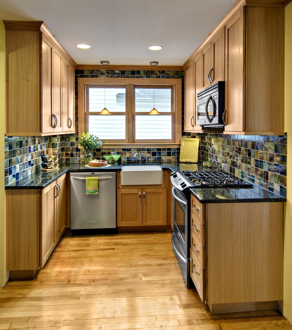 awards skinny kitchen cabinet Honorable Mention NKBA award Small Kitchen