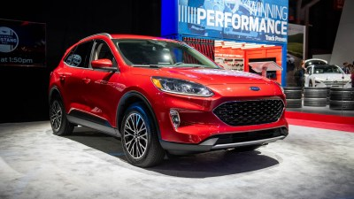2020 Ford Escape crossover revealed: Turbo or hybrid power ...