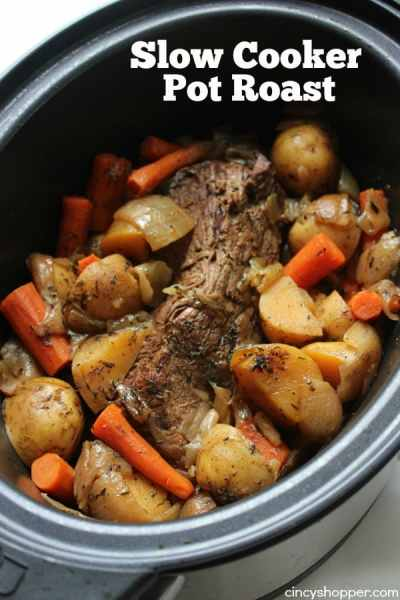 Slow Cooker Pot Roast - CincyShopper