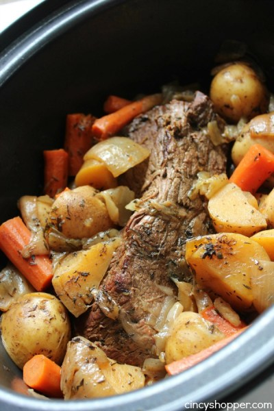 Slow Cooker Pot Roast - CincyShopper