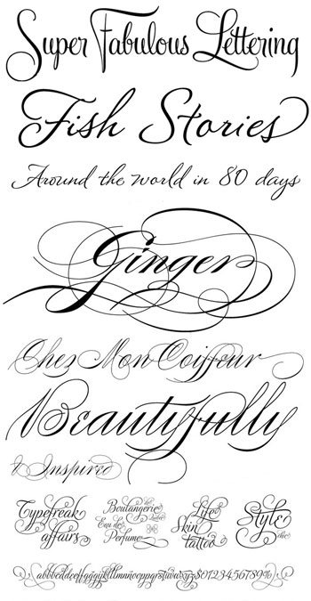 Invitations That Sizzle: Choosing A Delicious Font ...