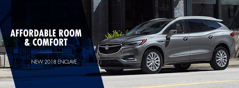 Lupient Buick GMC of Rochester is a Rochester Buick  GMC dealer and     The 2018 Buick Enclave is available at Lupient Buick GMC of Rochester near  Austin  MN
