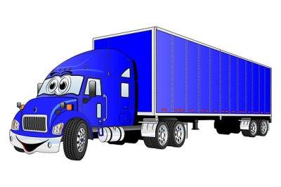 Free Cartoon Semi Trucks, Download Free Clip Art, Free Clip Art on Clipart Library
