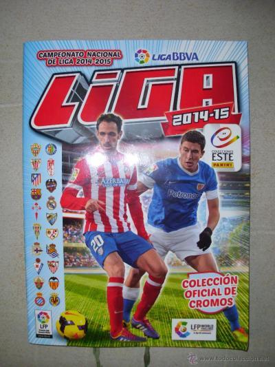 álbum de cromos liga bbva, liga 2014-15 panini, - Comprar Álbumes antiguos completos en ...