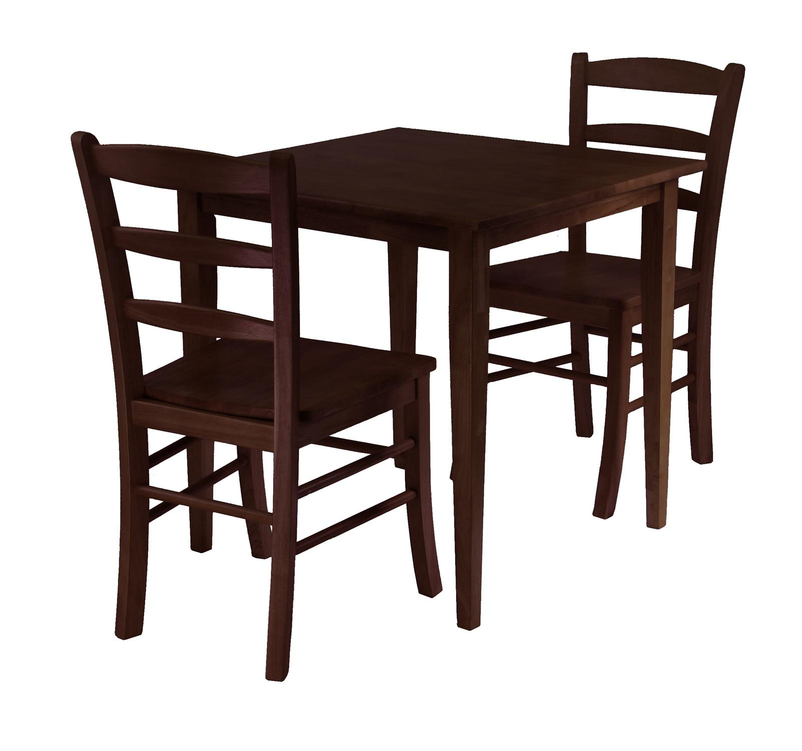 groveland chairs square kitchen tables Groveland 3pc Square Dining Table with 2 Chairs