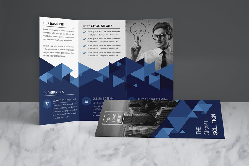 Design a Ready to Print Brochure in Photoshop Trifold Brochure