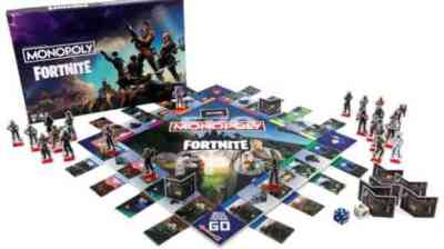 Epic and Hasbro Team Up for Fortnite Monopoly, Nerf Guns | COGconnected