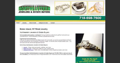 Northeastern Jewelers & Gold Staten Island, NY   CoinShops.org