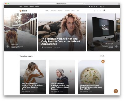 40 Best Fashion Blog & Magazine WordPress Themes 2019 ...
