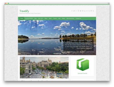 50+ Best WordPress Travel Themes For Blogs, Hotels and ...