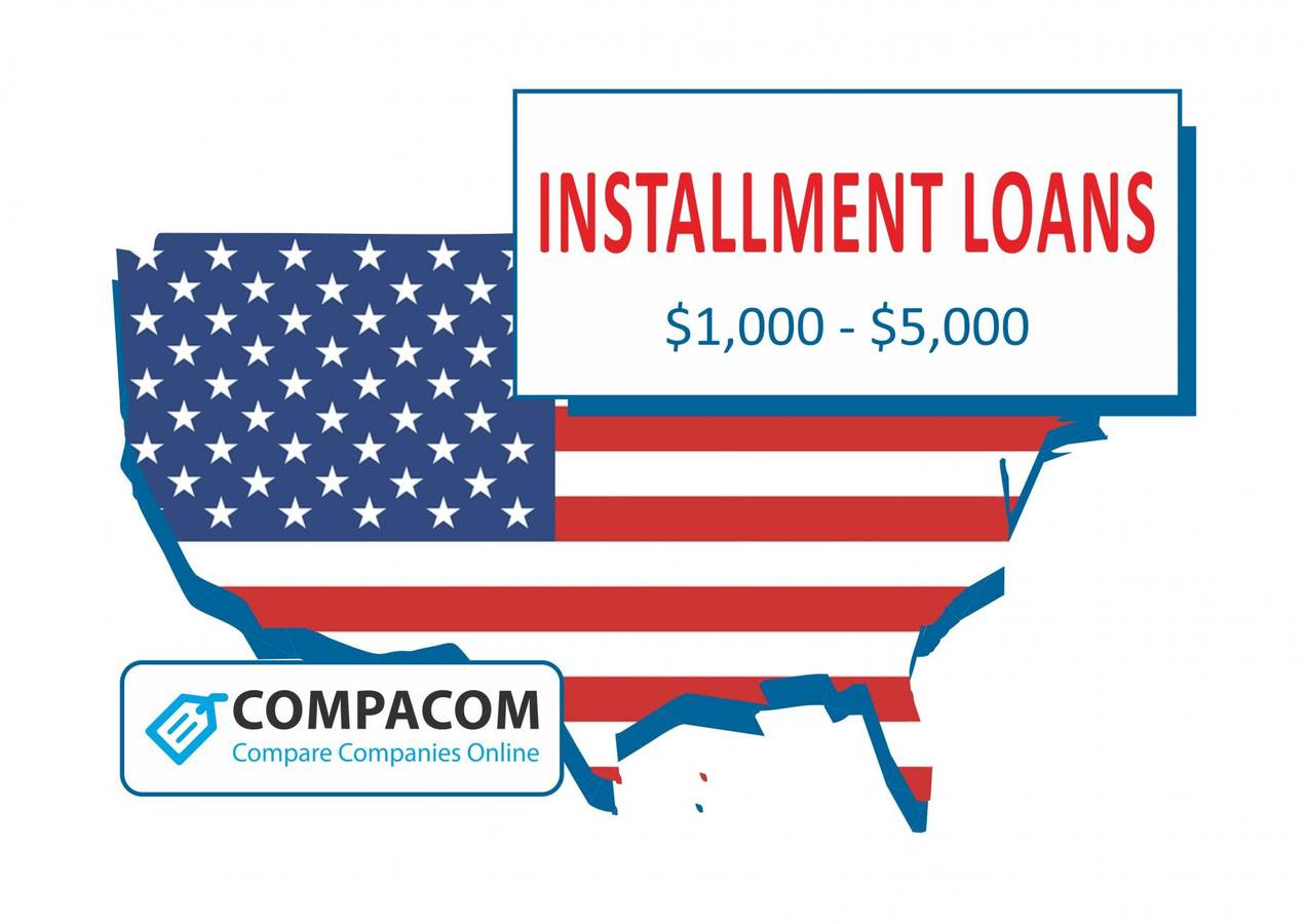 $1,000 - $5,000 Installment Loans in the USA   COMPACOM – Compare Companies Online