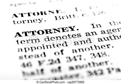 Definition define attorney in dictionary lawyer judicial .... stock photographs - Search Photo ...
