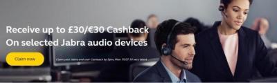Jabra Launches New Q2 Cashback Promotion - Contact-Centres.com