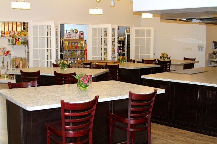 cookcorkandfork kitchen table cooking school We have created the perfect environment for you to learn laugh and experience all that is Culinary You ll feel right at home in our gourmet kitchen