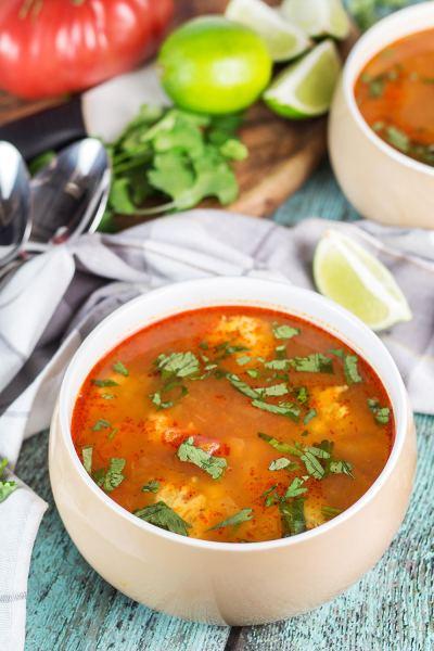 Mexican Shrimp Soup (Albóndigas de Camarón) - Cooking The Globe