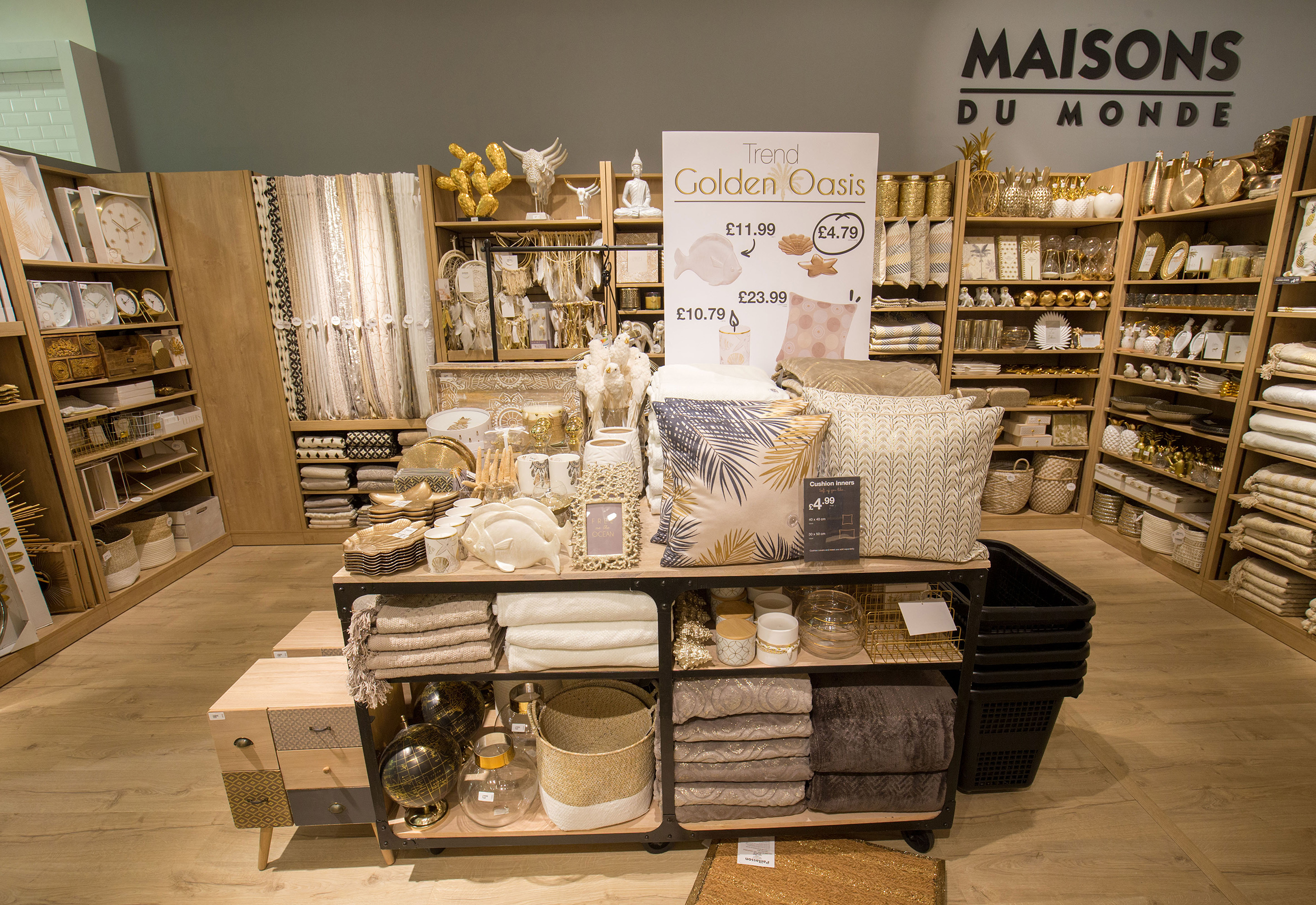 Maisons du Monde opened 3 concessions in London Westfield     debenhams