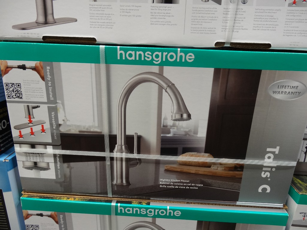 hansgrohe talis c kitchen faucet grohe kitchen faucet Hansgrohe Talis C Kitchen Faucet Costco