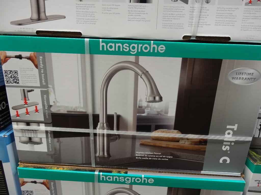 hansgrohe talis c kitchen faucet hansgrohe kitchen faucets Hansgrohe Talis C Kitchen Faucet Costco