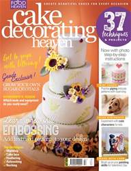 Cake Decorating Heaven Magazine   Cake Decorating Heaven January     Cake Decorating Heaven   Cake Decorating Heaven January February
