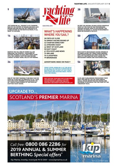 Yachting Life Magazine - Jan-Feb 2019 Subscriptions ...