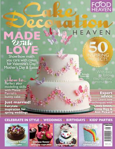 Cake Decorating Heaven Magazine   Cake Decoration Heaven Spring 2014     Title Cover Preview Cake Decorating Heaven Preview