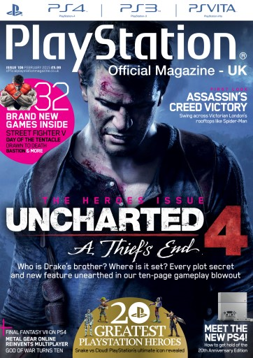 Playstation Official Magazine (UK Edition) - February 2015 Subscriptions   Pocketmags