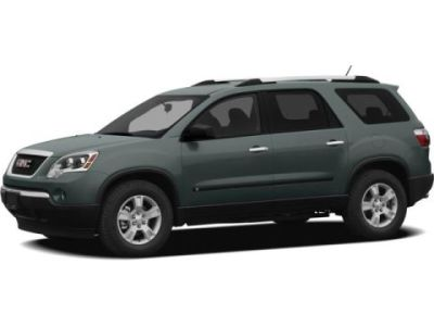 2009 GMC Acadia Reviews  Ratings  Prices   Consumer Reports GMC Acadia Change Vehicle