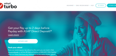 www.turboprepaidcard.com - TurboTax Prepaid Visa Card Activation - Credit Cards Login