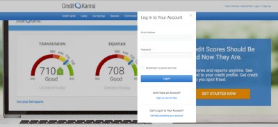 Credit Karma Login - How To Get Your Free Credit Score
