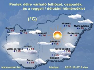 Időjárás-előrejelzés-péntek-Magyarország | Csanadi1's Blog