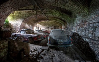 Lost Cars Found In Barn   Best Cars Modified Dur A Flex