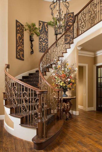 Escaleras de herrería para interiores | Escaleras de concreto y madera