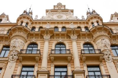 Art Nouveau Architecture | Moldova: A Peace Corps Adventure