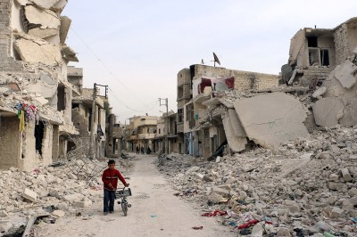 Aleppo: Once the Jewel of Syria, Now the Rebels' Last Stand, Flattened by Assad's Bombs