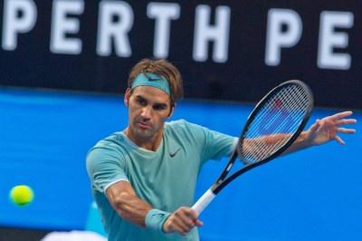 Roger Federer delivers injury update after winning comeback match at Hopman Cup
