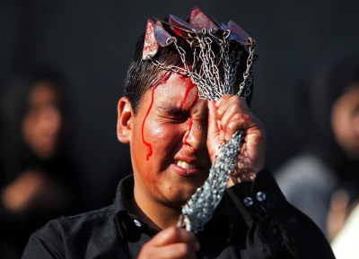 Ashura 2017: Shia Muslims beat themselves with chains and knives [Graphic images]