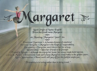 Margaret · Dreams