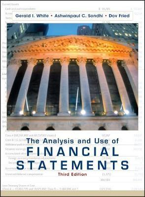 The Analysis and Use of Financial Statements : Gerald I. White : 9780471375944
