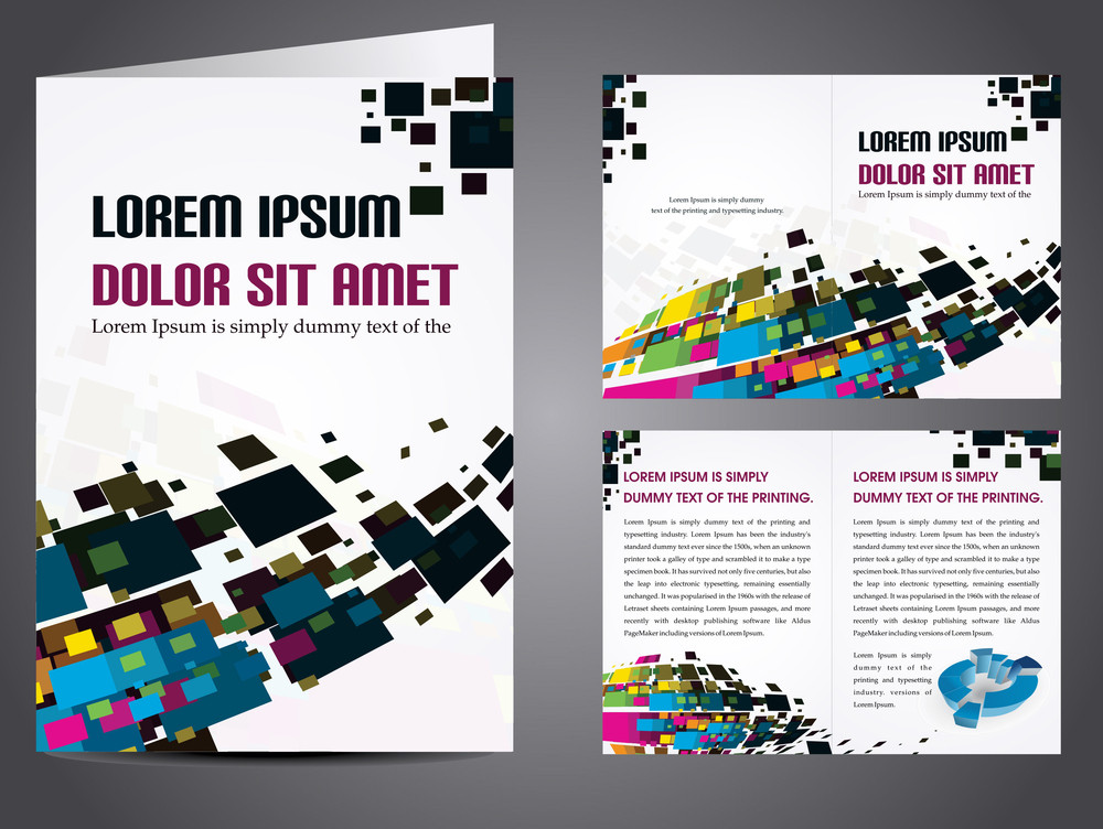Vector Illustration Of Catalog Or Corporate Brochure Design  Royalty     Vector Illustration Of Catalog Or Corporate Brochure Design