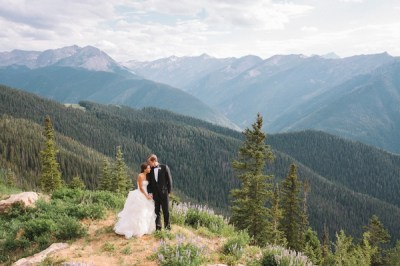 Summer Destination Wedding with Rocky Mountain Views in ...