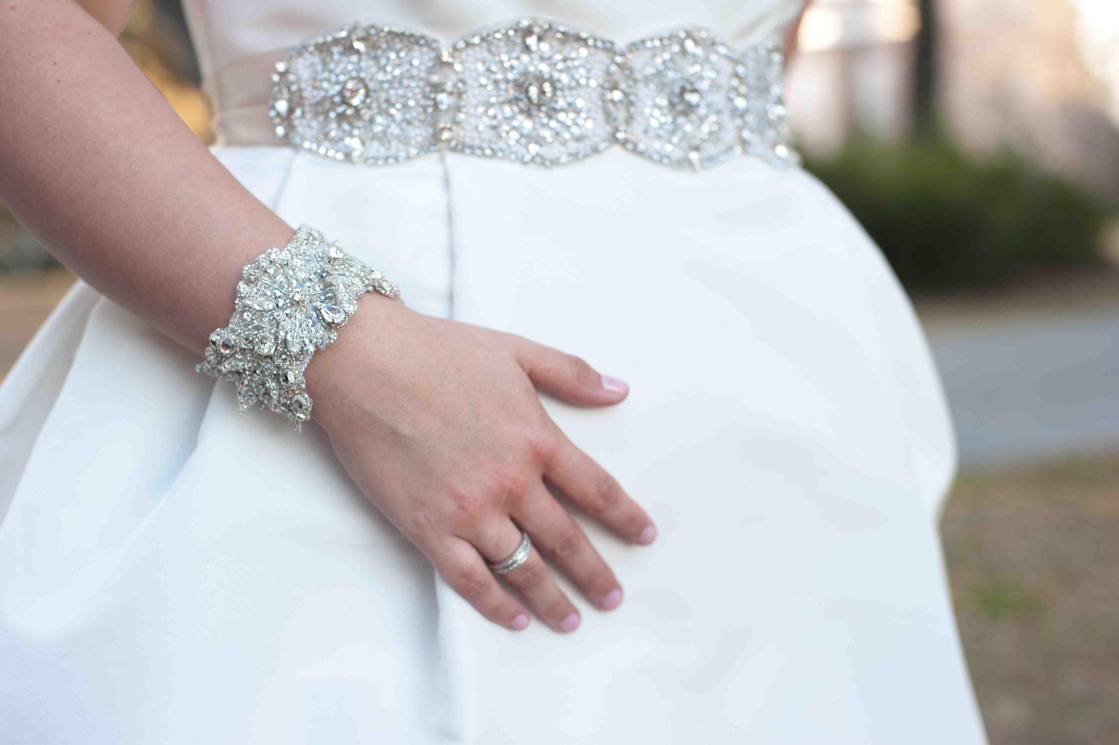 wedding belts for dresses embellished crystal bridal sash on lioncarlo gown