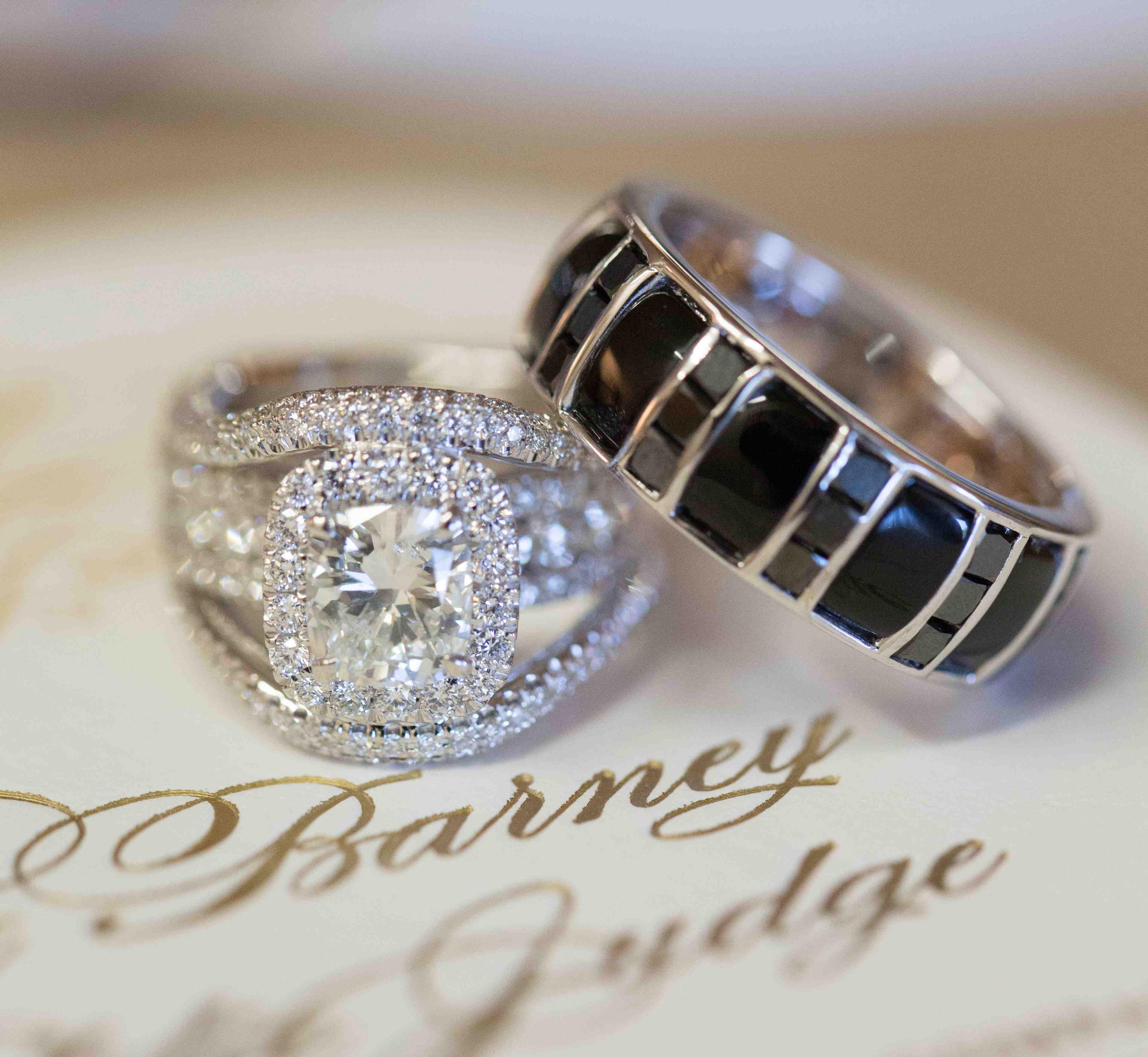 mens unique wedding rings unique men s wedding band with black diamonds